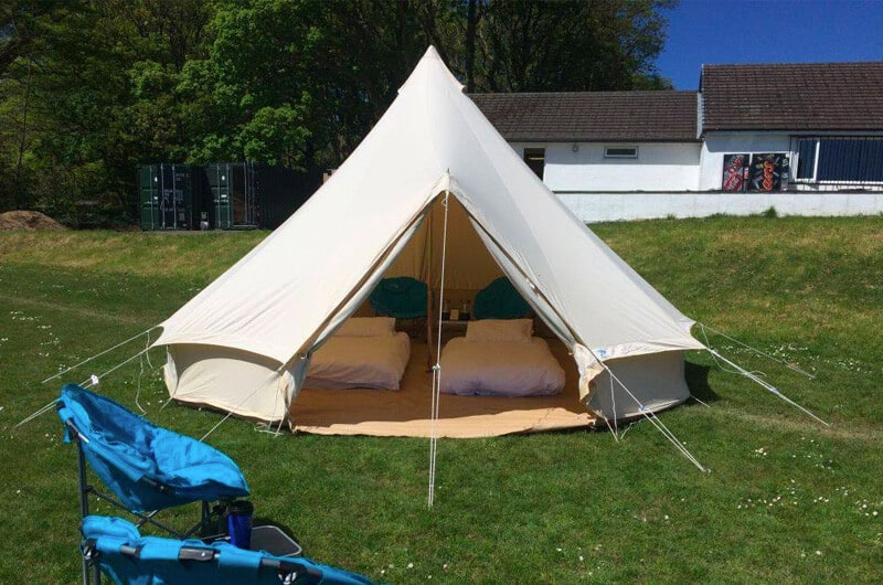 Isle of Man TT Glamping