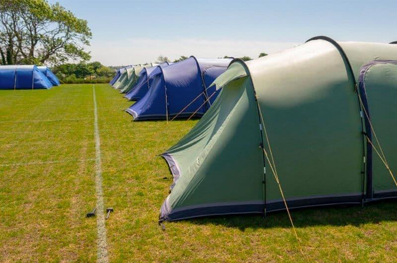 Isle of Man TT Camping